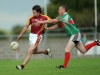 7/8/2010 XXXX, Ballina Stephenites in action against YYY, Ballinrobe in the Mayo senior club football championship at Flanagan Park, Ballinrobe. Picture Ray Ryan